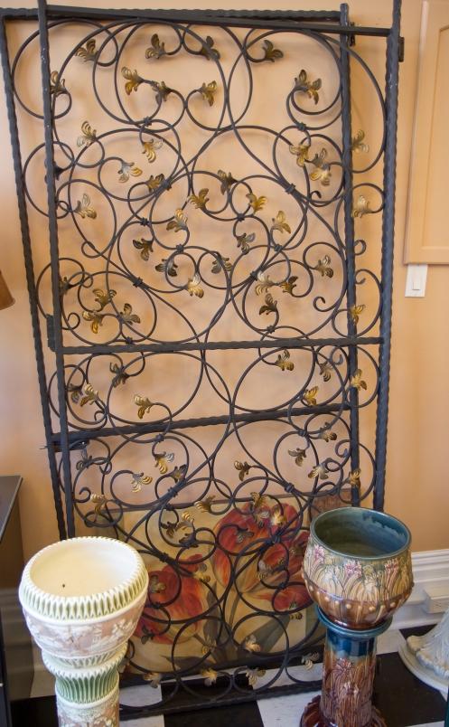 $1,750 Iron gates - gold décor