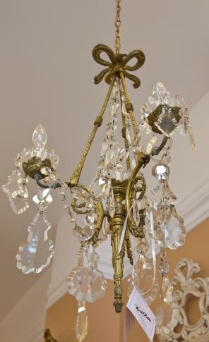French Ormalu - large beveled crystals