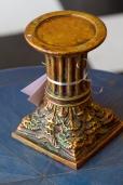 $75 Carved pedestal - Verdegris