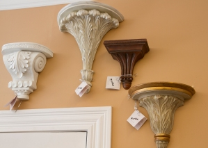 $25 to $75 each. Variety of wall brackets