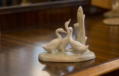 NAO Lladro figurine of geese by Jose Huerto. Spain circa 1970s