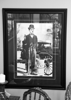 Charlie Chaplin print from City LIghts 1931.