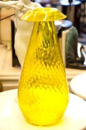 Glass Pineapple Vase