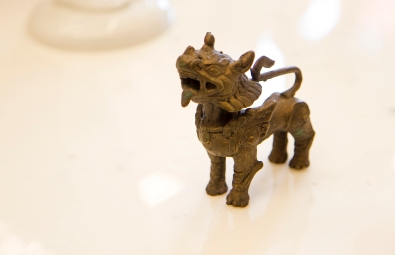 Brass Fu Lion