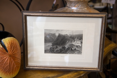 $225 Engraving of Queenston signed by artist William Henry Bartlett in 1842
