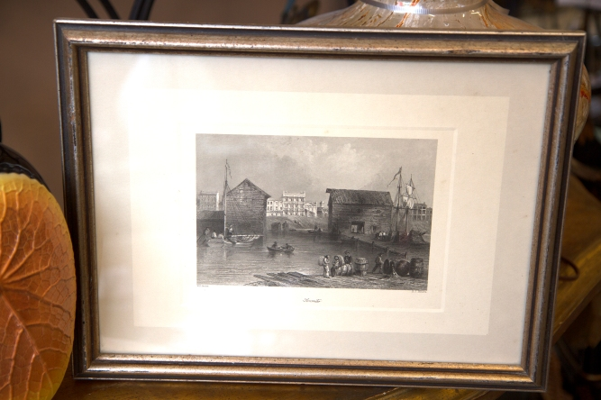 $225 Engraving of Toronto signed by artist William Henry Bartlett in 1842