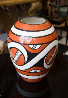 $95 Trypillian style vase from UKR Art. Ukraine